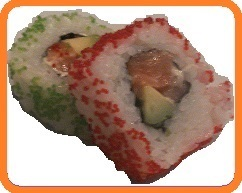Lachs Inside-out Roll